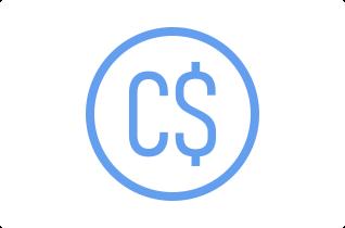 Canadian dollar symbol